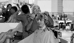 Hazzard's barbershop (Barber7) Tags: haircut chair traditional barbershop barber cape clippers