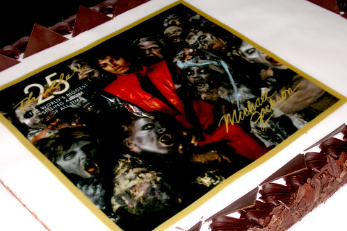 Michael Jackson's Thriller25 Anniversary cake by amcharg.