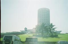 nehru building (Jennifer Kumar) Tags: bombay mumbai india1998 negativescannehrubuilding