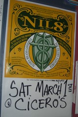 NIL8 Concert Poster