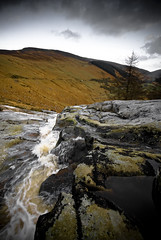 Glenmacnass Waterfall, County Wicklow, Ireland (jogorman) Tags: county ireland water river waterfall rocks stream europa europe hill eire hills moors brook flowing wicklow cascade irlanda irlande cascading   laragh    glenmacnass jamesogorman