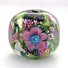 Spring Roses (Lion's Paw Jewelry and Glass Art) Tags: pink flowers nature glass floral garden handmade bead lampwork focal