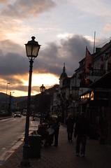 Sun sets in Rudesheim (beketchai) Tags: rhineriver rudesheimamrhine
