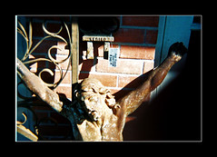 [untitled ansco 50 test] (ǝlɐǝq ˙M ʍǝɥʇʇɐW) Tags: winter test film metal easter store texas forsale christ jesus 110 decoration lawn courtyard fist 23 decor pricetag 08 hauptstrasse 323 lowfi march23 filmlives fburg ansco50