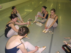 First Pointe Class Gr6 Ballet 2008 (Carlson's School of Dance) Tags: school dance carlsons