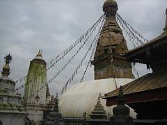 Swayambunath (Kathmandu, Nepal) (Amaia eta Gotzon) Tags: travel viaje nepal building architecture temple arquitectura asia viajes kathmandu budha katmandu swayambunath templo budhist budismo budhism budista bidaia travelphotos 5photosaday bidaiak fotosdetusviajes