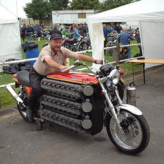 48-cylinder motorcycle (twm1340) Tags: motorcycle custom oddity 10000views 15000views simonwhitlock 48cylinder