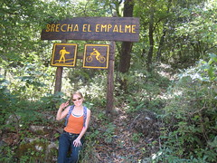 Hiking to el Pinal from Hotel Chipinque in Monterrey, Mexico