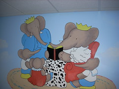 Babar and Family (Kathy Blades) Tags: babar