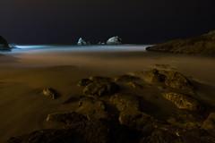 cliff house light (rstovalljr) Tags: ocean sanfrancisco longexposure beach water night waves sutrobaths cliffhouse mywinners rossstovall
