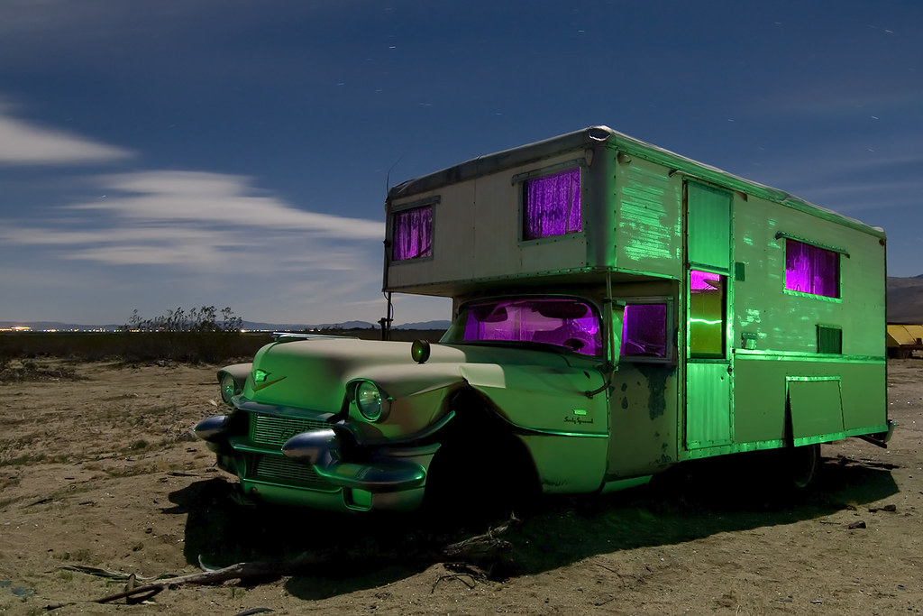 The World's Best Photos of camper and lightpainting - Flickr