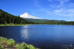 20070708_2557 (BrainPie) Tags: mountain lake nature oregon reflections outdoors northwest mthood trilliumlake absolutelystunningscapes qualitypixels