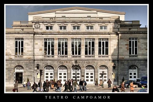 Teatro Campoamor por Cesar Sampedro.