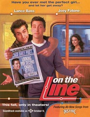 On The Line (2001) movie poster, starring Emmanuelle Chriqui