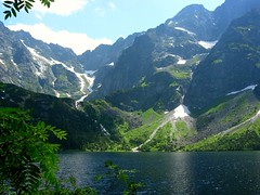 Morskie Oko in the summer (Margrt A.) Tags: lake mountains green poland best tatry morskieoko blueribbonwinner golddragon superaplus aplusphoto maxfear concordians fotografianaturalistica 100commentgroup vosplusbellesphotos