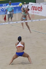 Line it up () Tags: woman attack womens beachvolleyball seoul donne volleyball mulheres mujeres dig femmes nationalteam vrouwen frauen   kobiety republicofkorea  fivb eny nationalmannschaft vasso kvinder landslaget  naiset   femei reprezentacija  squadranazionale kvinnor  equiponacional  songpagu  ene   echipanationala swatchfivbworldtour hangangcitizenspark seoulopen bangidong  2008fivb voleiboldepraia   rtvelo          lquipenationale nrodntm