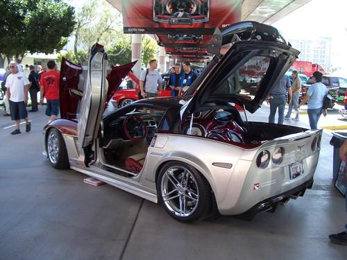 SEMA SHOW Cool exotic car rims autoshow SEMA 2006 Corvette concept by airgap.