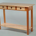 Mahoghany and Curly Maple Server Table 55