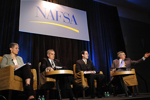 Advisers to presidential candidates at NAFSA 2008 Conference