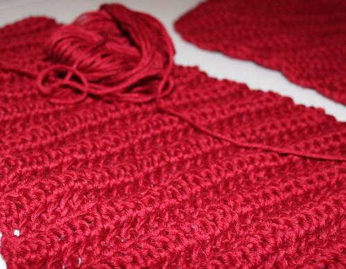wip flower blanket Cascade Sierra yarn