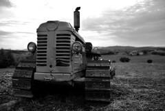 IL PROLETARIO (JoeMitraglia) Tags: campagna tuscany campo toscana autunno stagioni trattore contadino nomadi damniwishidtakenthat