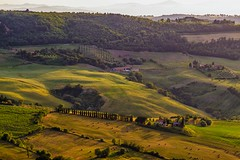 An evening at Montepulciano - Tuscany, Italy (dejott1708) Tags: montepulciano tuscany toskana italy italia sunset valley val shadows landscape landschaft