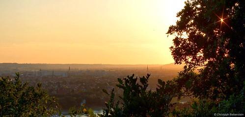 Sommerabend über Dresden