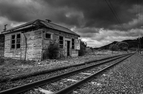 Bennydale Railway line, King Country, NZ