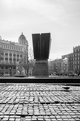 (G.Comte) Tags: barcelona travel treatyourself spain espana espagne bacelone europe holidays winter sunlight noiretblanc blackwhite blackandwhite contrast architecture art spanish