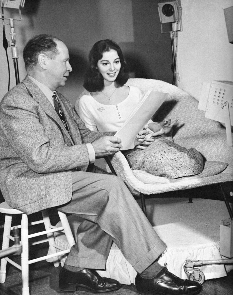 Pier Angeli and Clarence Bull