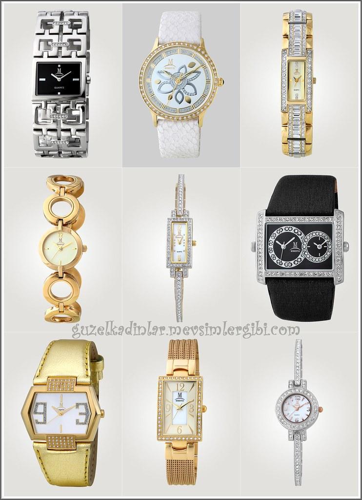 2010-2011 Momentus Bayan Saat Modelleri Momentus Kol Saatleri