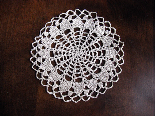 MyCreativeCard.com: My first Doily from Japanese Crochet Book