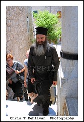 Greek Orthodox Priest (CTPPIX.com) Tags: old trip travel summer vacation building architecture canon beard island greek eos town tour village urlaub papas aegean hellas greece journey 7d gr priest ctp excursion 2010 chios papaz griekenland griek hios hellenic greekisland dailytrip xios sakiz medievalvillage mesta longbeard grek orthodoxpriest greekpeople greekpriest khios christpehlivan ctppix sakizadasi xioy kanaristour northchiostour