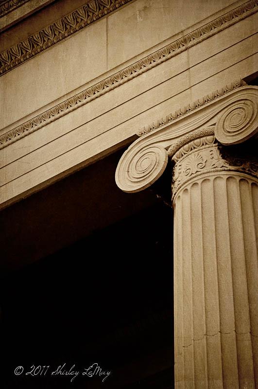 Textured Column Details
