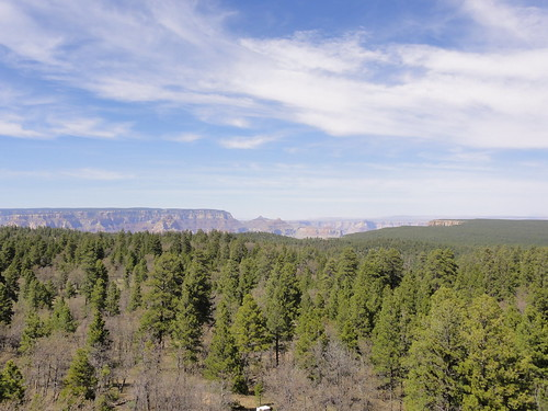 Grand Canyon from Grandview lookout tower