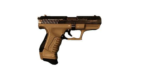 UNCHARTED 3: Pistol-Auto