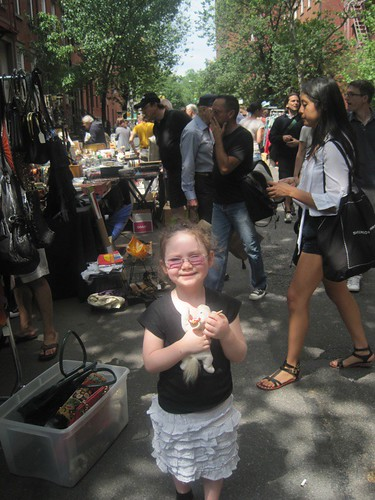 India at a Greenwich Village Flea Market
