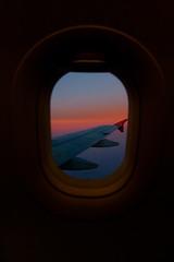 Sunset in the sky (jacsonquerubin) Tags: travel sunset pordosol brazil window southamerica braslia brasil plane airplane flight wing curitiba viagem janela asa avio voar sudamerica vo amricadosul savedbythehotboxuncensoredgroup