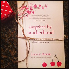 SO excited that my copy of #surprisedbymotherhood has arrived! @LisaJoBaker it looks incredible! Stoked to read it :)