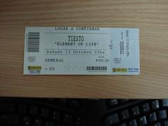 Tiesto tiket in Buenos Aires