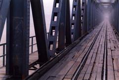 Puente (German Paley) Tags: bridge abstract film puente scanner bolivia fotos scanned abstracto 135mm santacruzdelasierra germanpaley