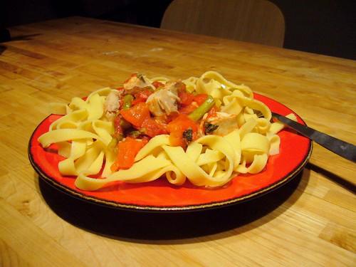30-Minute Homemade Pasta & Tomato Sauce