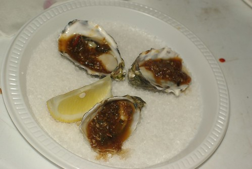 Bungalo 8 oysters at Sydney Night Noodle Markets, Hyde Park - part of Good Food Month