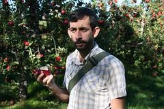 This apple tastes weird