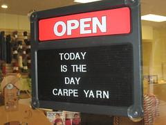 Carpe yarn