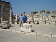 Ancient synagogue (Fr. Mariusz Majewski) Tags: israel synagogue galilee capernaum galilea izrael synagoga kafarnaum mariuszmajewski stanislawmajewski