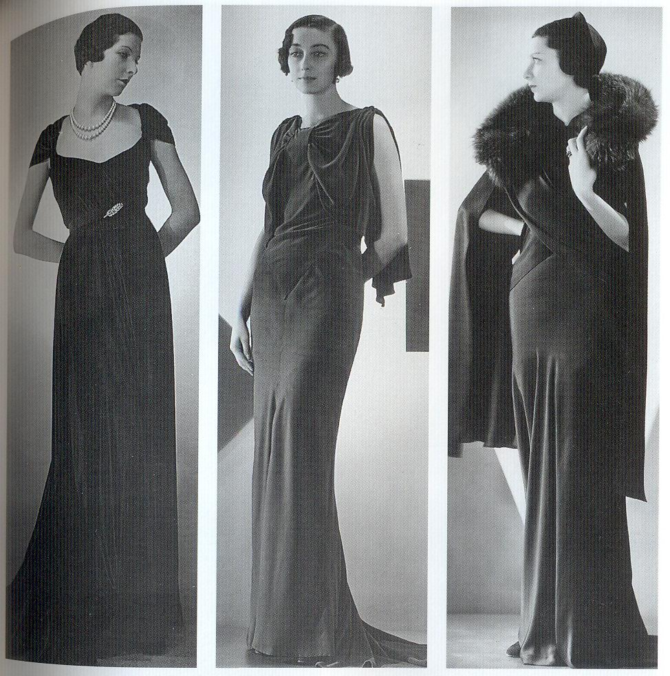 Art Deco: 1930s dresses