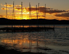 Lines in the sky (maureen_g) Tags: sunset sky reflection nature clouds australia nsw centralcoast supershot longjetty worldbest anawesomeshot aplusphoto diamondclassphotographer auselite naturewatcher theperfectphotographer