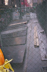 Globes and Sidewalk repair 30 N LaSalleCityHall 022