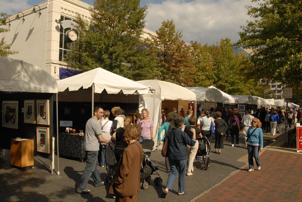 Bethesda Row Arts Festival